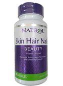 Viên uống Natrol Skin Hair Nails hỗ trợ đẹp da, tóc, móng