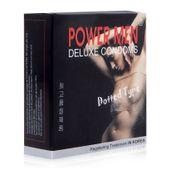 Bao cao su Power Men Deluxe Condoms Dotted Type hộp 3 chiếc