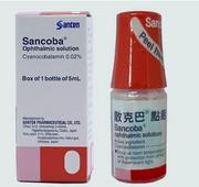 Dung dịch nhỏ mắt Sancoba Santen 0,02% lọ 5ml