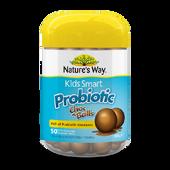 Kẹo socola lợi khuẩn cho bé Nature's Way Kids Probiotic 50v