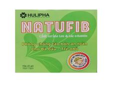 Natufib - Hỗ trợ bổ sung chất xơ, cải thiện táo bón