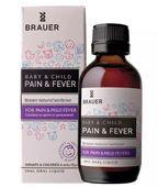Siro hạ sốt cho bé Brauer Pain And Fever của Úc
