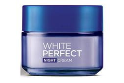 Kem dưỡng da ban đêm Loreal White Perfect hỗ trợ trắng da