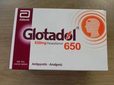 Thuốc hạ sốt, giảm đau Glotadol 650 ( 10 vỉ x 10 viên/hộp)