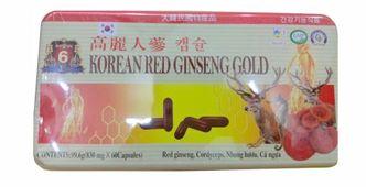 Viên hồng sâm Korean Red Ginseng Gold (1 vỉ x 5 viên)