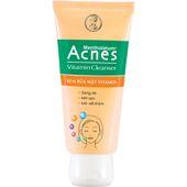 Sữa rửa mặt Acnes Vitamin Cleanser sáng da, mờ thâm