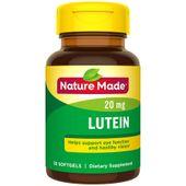 Viên uống bổ mắt Lutein 20mg Nature Made 30 viên của Mỹ