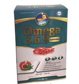 Viên uống Omega 3 6 9 Newfrance dầu gấc + dầu cá hộp 60 viên