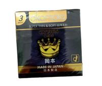 Bao cao su Okamoto Crown Super Thin & Soft siêu mỏng