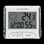Nhiệt ẩm kế có giờ Lanaform LA120701 công nghệ cao