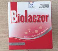 Men vi sinh Biolaczor hỗ trợ tiêu hóa vỉ 10 viên
