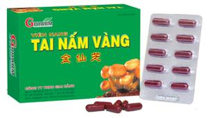 Tai Nấm Vàng GPharm - hỗ trợ chức năng gan, giải độc gan
