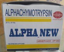 Thuốc Alphachymotrypsin Alpha New vỉ 10 viên