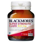 Viên uống bổ tim mạch CoQ10 300mg Blackmores của Úc