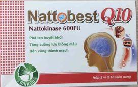 Viên uống hoạt huyết dưỡng não Nattobest Q10- Việt Nam