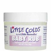 Dầu bôi ấm ngực cho bé Little Remedies Baby Rub của Mỹ