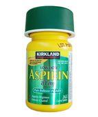 Viên uống Aspirin 81mg Kirkland của Mỹ