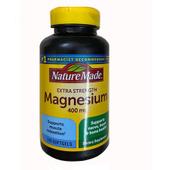 Viên bổ sung Magiê Nature Made Magnesium 400 mg