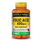 Viên uống hỗ trợ bổ sung Acid Folic Mason Natural cho bà bầu