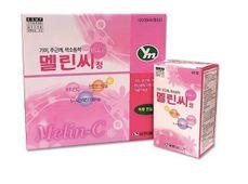 Viên uống hỗ trợ mờ nám, tàn nhang Melin C Hàn Quốc