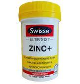 Viên hỗ trợ bổ sung kẽm Swisse ZinC+ của Úc