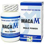 Viên uống hỗ trợ tăng cường sinh lý nam Maca M Male Power 60 Viên