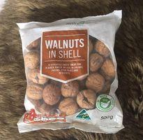 Hạt óc chó nguyên vỏ Úc Walnuts In shell 500g