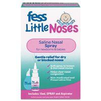 Xịt hỗ trợ cải thiện nghẹt mũi, sổ mũi Fess Little Noses Spray
