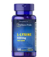 Viên uống L-Lysine Puritan's Pride 500mg của Mỹ