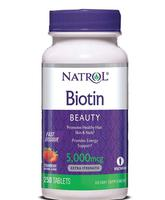 Viên ngậm mọc tóc Biotin 5000 mcg của Mỹ chính hãng