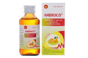 Siro tan đờm Ambroco (60ml)- Điều trị bệnh hô cấp, mãn tính