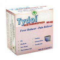 Bột uống giúp giảm đau, hạ sốt Tydol Sachet Powder 80Mg