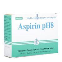 Thuốc Aspirin Ph8- Hạ sốt, giảm đau, kháng viêm