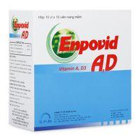 Thuốc bổ sung Vitamin A- D phòng nhuyễn xương Enpovid A, D