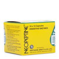 Thuốc điều trị đầy hơi, khó tiêu Neopeptine(10 vỉ x 10 viên)