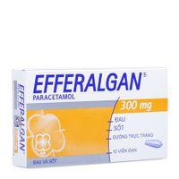 Thuốc giảm đau hạ sốt Efferalgan (300mg)- Xuất xứ Pháp