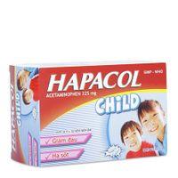 Thuốc giảm đau hạ sốt Hapacol Child 325g(hộp 10vỉ x 10 viên)