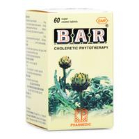 Thuốc lợi gan mật Bar (Lọ 60 viên)- Xuất xứ Việt Nam