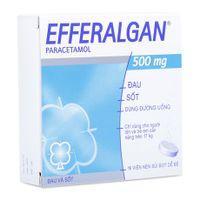 Thuốc trị đau hoặc sốt dạng viên nén sủi bọt Efferangan