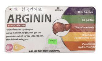 Arginin giúp mát gan, tăng cường chức năng gan- Hàn Quốc