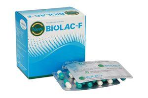 Viên nang hỗ trợ tiêu hóa Biolac- F (1 vỉ x 10 viên)