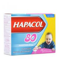 Thuốc giảm đau hạ sốt cho trẻ Hapacol 80