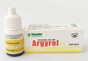 Thuốc nhỏ mắt Argyrol 1% 5ml