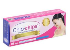 Que thử thai Chip Chips