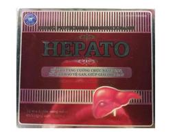 Hepato - Viên uống hỗ trợ chức năng gan vỉ 5 viên