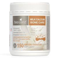Viên uống Bio Island Milk Calcium Bone Care bổ sung canxi