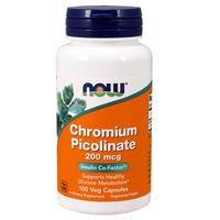 Viên uống Chromium Picolinate 200mcg Now của Mỹ chính hãng