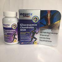 Viên uống Equate Glucosamin Chondroitin MSM 60 viên