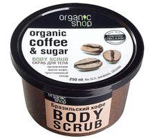 Tẩy da chết toàn thân Organic Shop Organic Coffee & Sugar