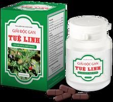 Viên uống hỗ trợ giải độc gan Tuệ linh lọ 60 viên
